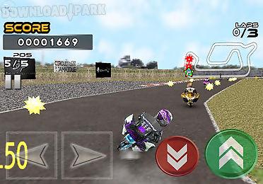pocket bike race