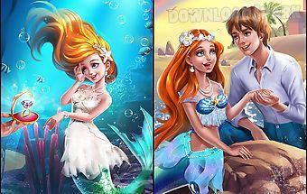 Princess mermaid wedding salon