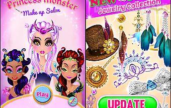 Princess monster makeup