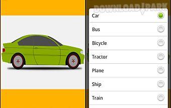 Vehicle for kids transport