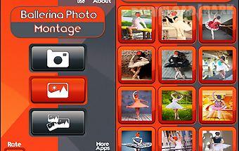 Ballerina photo montage