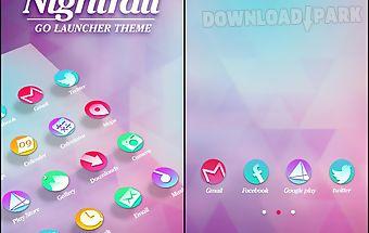 Nightfall go launcher theme