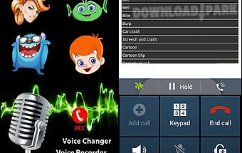 Play voice changer during call