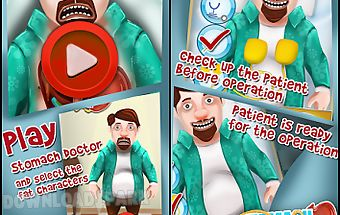Stomach doctor - play fun game