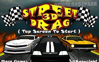 Street drag 3d : racing cars