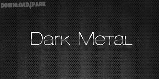 (free) dark metal go theme