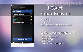 1 touch - super booster