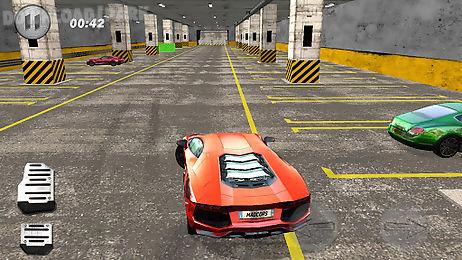 cars parking 3d simulator