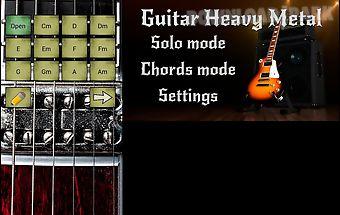 Guitar heavy metal