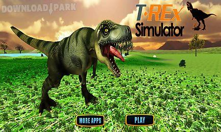 tyrannosaurus rex jurassic sim