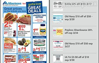 Weekly ads, coupons & deals