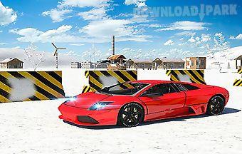 car parking winter 3d