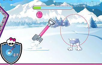 Abbeys snow monster design