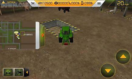 farm tractor simulator 3d