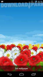 flower field live wallpaper