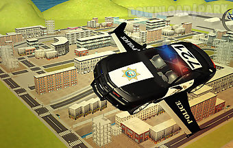 Flying police car 3d simulator