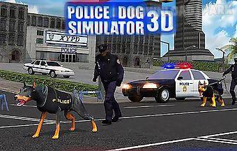Police dog simulator 3d