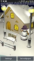 snowfall 3d