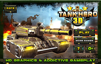 Tank hero 3d game