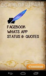 whatsapp facebook status - quotes