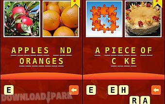 2 pics 1 phrase word game
