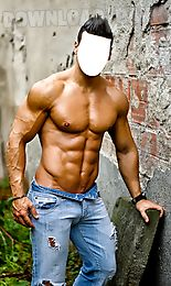 Body builder photo editor Android App free download in Apk