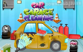 Car garage cleaning games