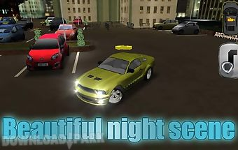 Car parking 3d - night city