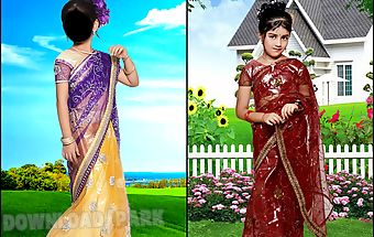 Kids saree photo maker