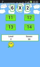 math multiplication table