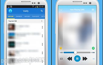 Volify - free music player
