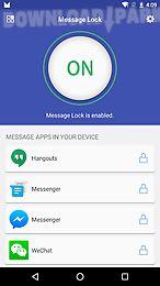 message lock (sms lock)