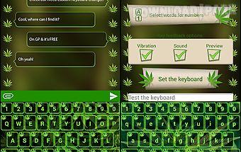 Weed custom keyboard changer