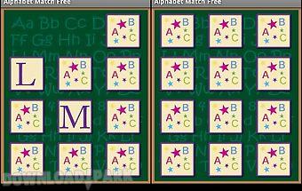 Alphabet match free