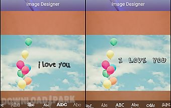 Edit images and writing on img