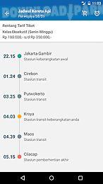 jadwalka kereta api indonesia
