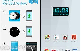 Led clock widget c-me clock