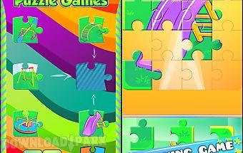 Preschool puzzle games