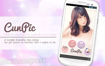 Selfie camera -facial beauty-