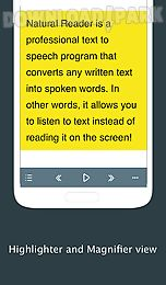 text to speech - naturalreader