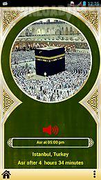 universal prayer times & qibla