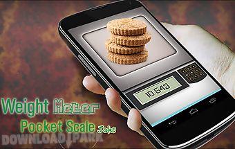 Weight meter pocket scale joke