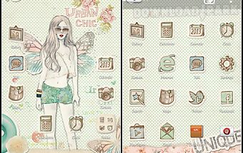 Collage go launcher theme