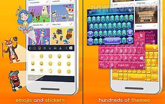 Redraw keyboard emoji & themes