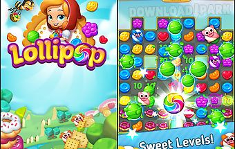 Lollipop: sweet taste match 3