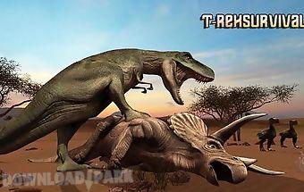 T-rex survival simulator