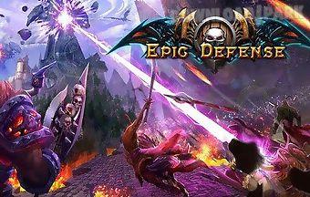 Epic defense: origins