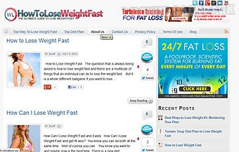 How to lose weight fast safely a..