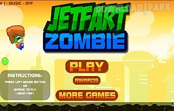 Jet fart zombie