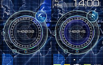Radar: digital clock